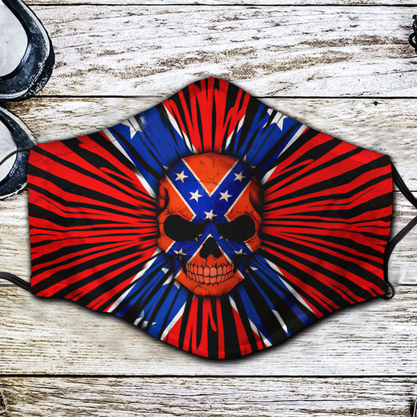 Confederate Fabric Face Mask