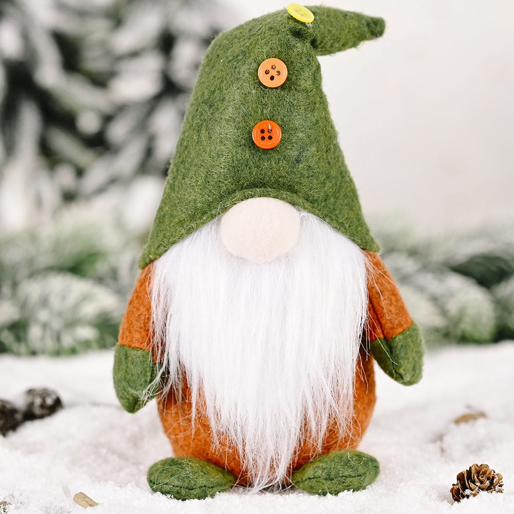 ☘St. Patrick's Day☘ Handmade Gnome doll For Holiday Gift