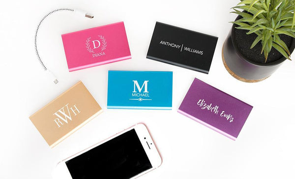 Corporate Gift Item - Personalized Powerful Power Banks