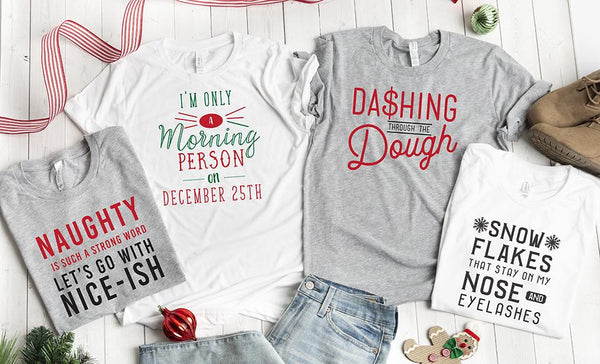Personalized Nice-ish Holiday T-Shirts