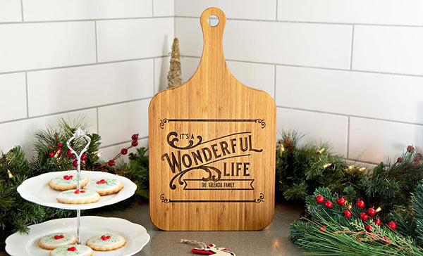 Customized Christmas Serving Extra-Large Boards