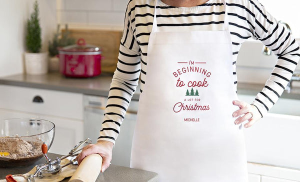 Social Media Deals - Customized Christmas Aprons