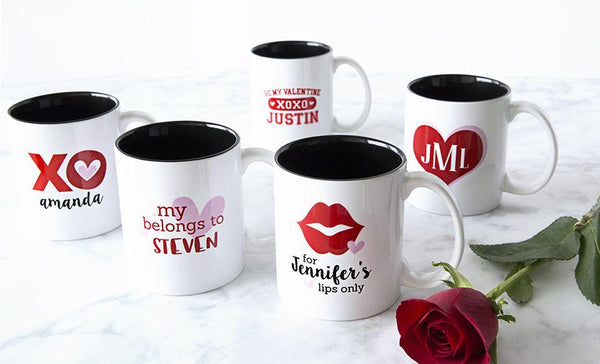 Personalized Love Themed Mugs