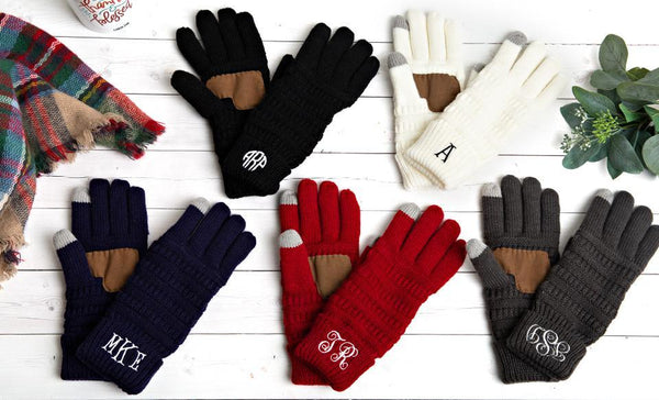 Non-Customized Knit Gloves