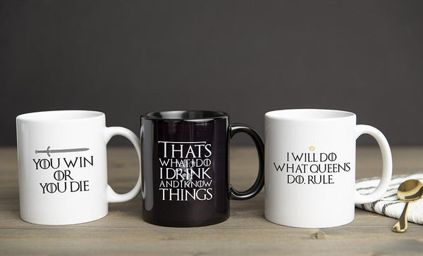Personalized Game of Thrones Mug Collection