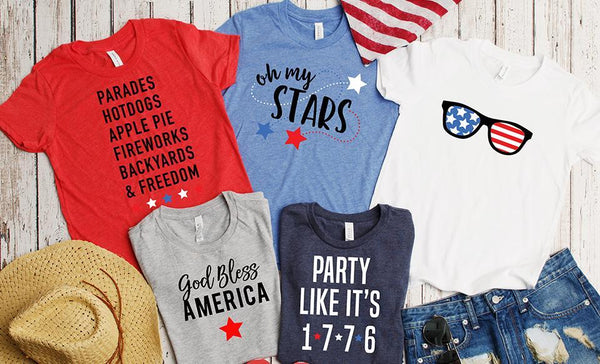 Customized God Bless America T-Shirt Collection
