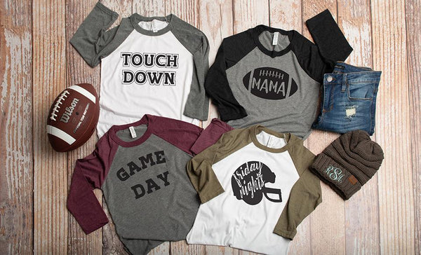 Customized Football Collection (unisex sizing)