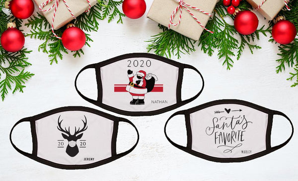 Customized 2020 Christmas Face Coverings