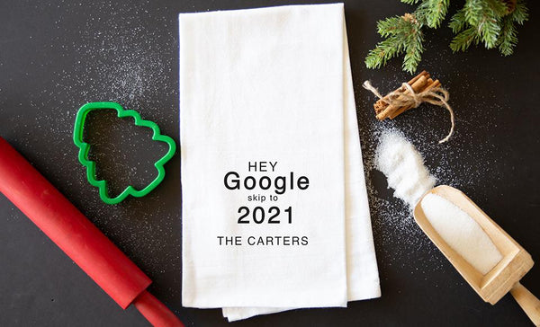 Customized 2020 Tea Towels