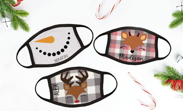 Personalized Winter Children's Face Coverings