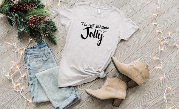 'Tis the Season Ladies Crew T-Shirts