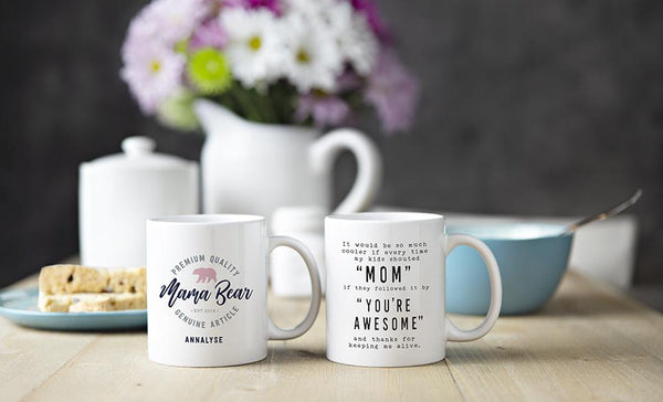 Personalized Mugs for an Awesome Mom