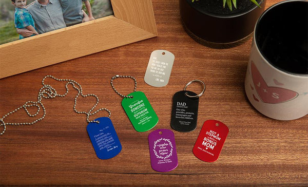 Customized Dog Tags – Family Collection