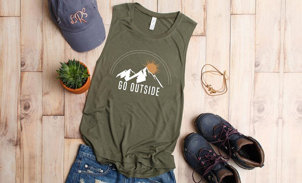 Go Outside Women's Tank Collection
