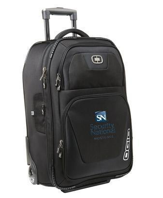 Corporate Rolling Bag - Embroidered OGIO Kickstart 22 Travel Bag - 413007