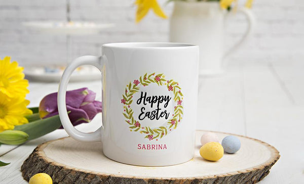 Personalized Easter Mugs