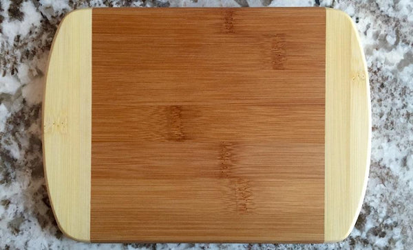 MDRN - 6x8 Two Tone Round Edge Cutting Board