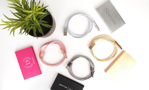Select a cord color (for the upgraded power bank cord):