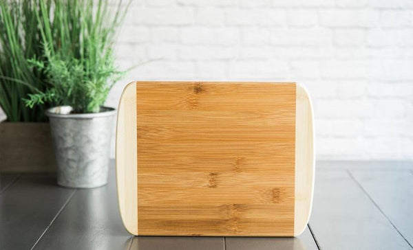 MDRN - 8.5x11 Two Tone Round Edge Cutting Board