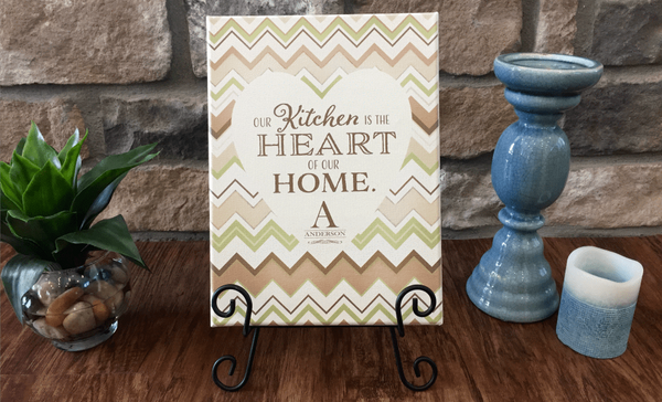 Personalized Kitchen Signs - Qualtry