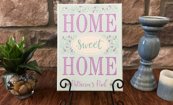 Personalized Home Sweet Home Signs - Qualtry Personalized Gifts