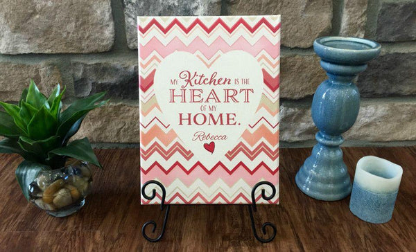 Personalized Kitchen Signs - Qualtry Personalized Gifts