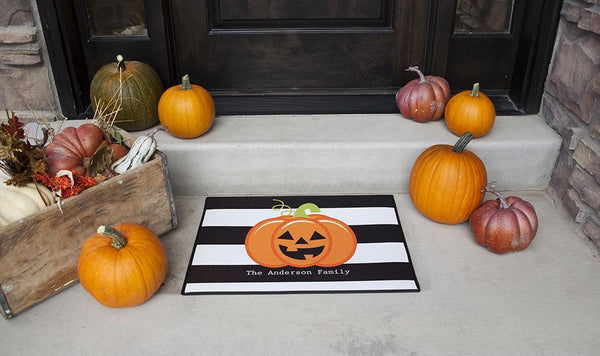 New Personalized Halloween Door Mats
