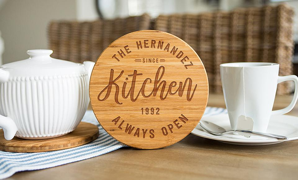Personalized Trivets