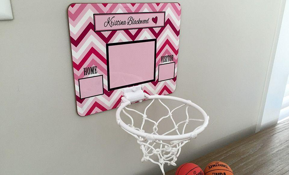 Personalized Basketball Hoop Qualtry