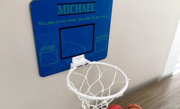 Personalized Basketball Hoop