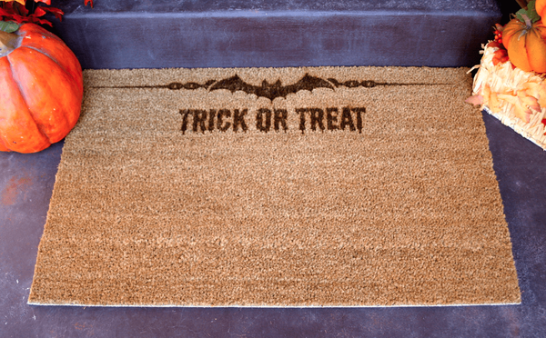 Happy Halloween Door Mats - Qualtry