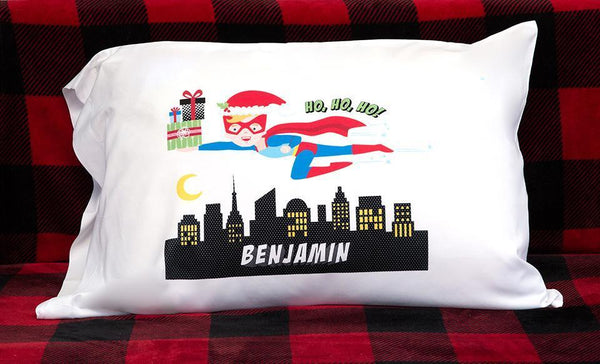 Corporate 5 Dollar Discount Page - Customized Christmas Boy Superhero Pillowcases