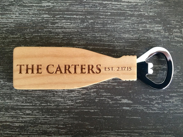 Personalized Magnetic Bottle Openers - 6 Classic Designs!