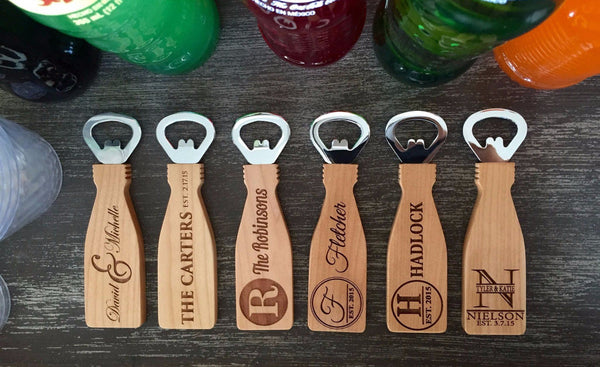 Personalized Magnetic Bottle Openers - 6 Classic Designs! - Qualtry