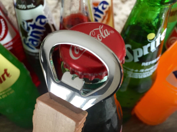Customized Magnetic Bottle Openers - Set of 2! - 6 Classic Designs!