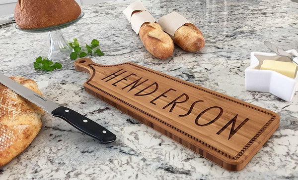Personalized Stunning Large Bread Boards