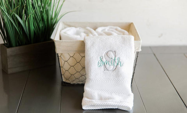 Corporate Home Accessory - Personalized Luxury Bath Towels
