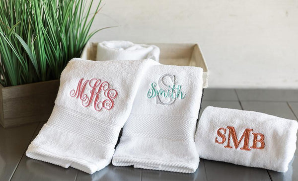 Personalized Luxury Hand Towels