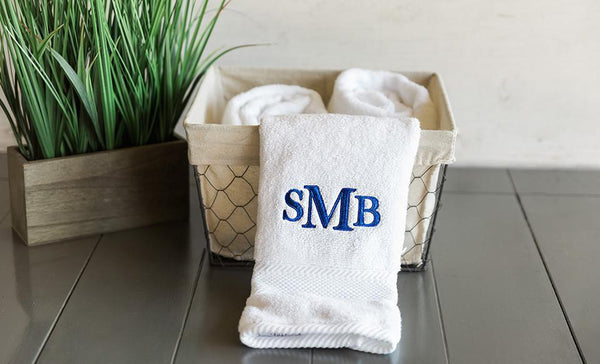 Personalized Luxury Bath Towels - FREE Hand Towel