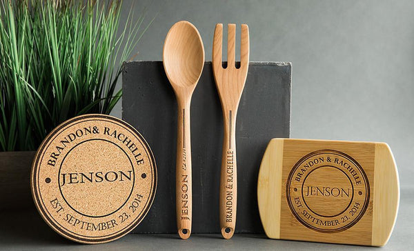 Personalized Kitchen Gift Bundle