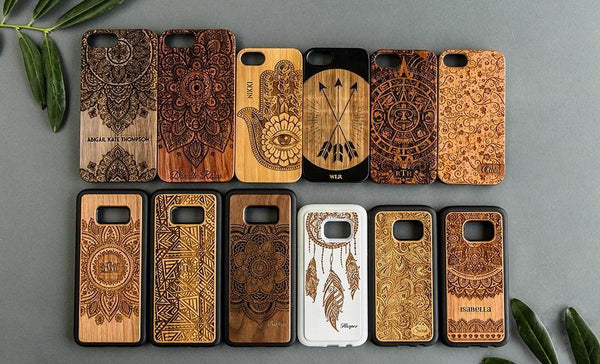 Wooden Cases - Artistic Collection