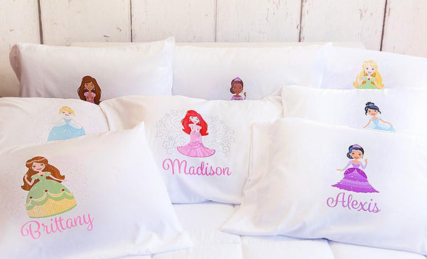 Customized Princess Pillowcases