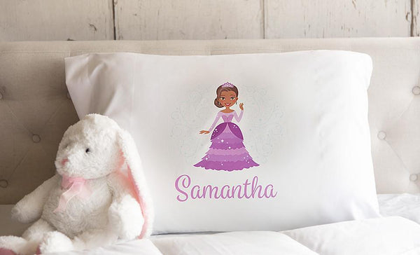 Personalized Princess Pillowcases