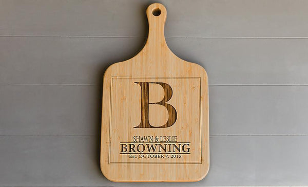 Premium Personalized Extra-Large Serving Boards! 9 Amazing Designs!
