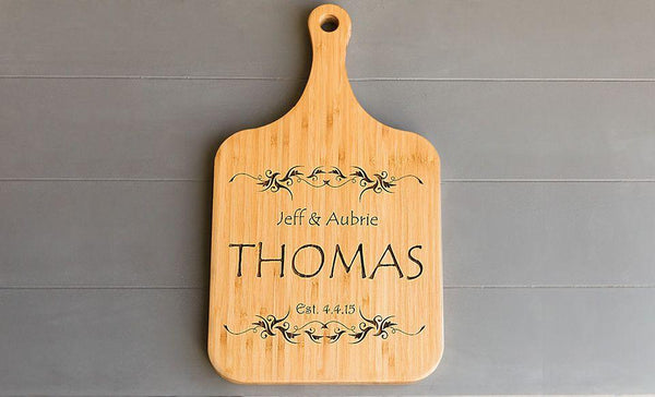 Premium Personalized Extra Large Serving Boards Bamboo