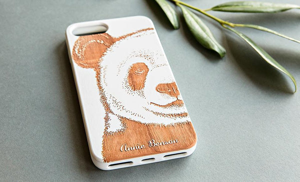 Wooden Phone Cases - Animal Collection