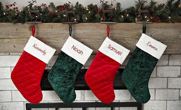 Corporate 5 Dollar Discount Page - Customized Velvet Christmas Stockings