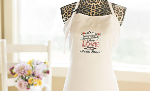 Personalized Embroidered Aprons