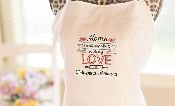 Customized Embroidered Aprons