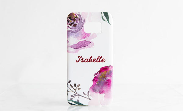 Cell Phone Cases - Watercolor and Marble Designs